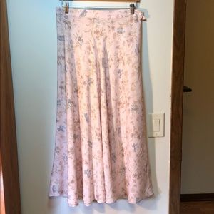 Laura Ashley rayon skirt